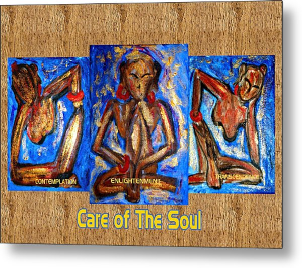 Care Of The Soul Metal Print by Donna Proctor