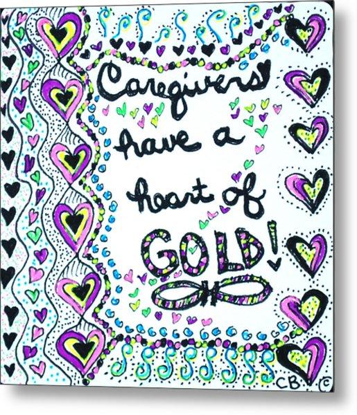 Caregiver Joy Metal Print