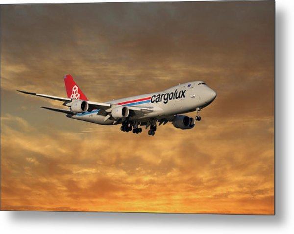 Cargolux Boeing 747-8r7 2 Metal Print