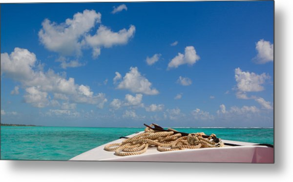 Caribbean Sea Metal Print