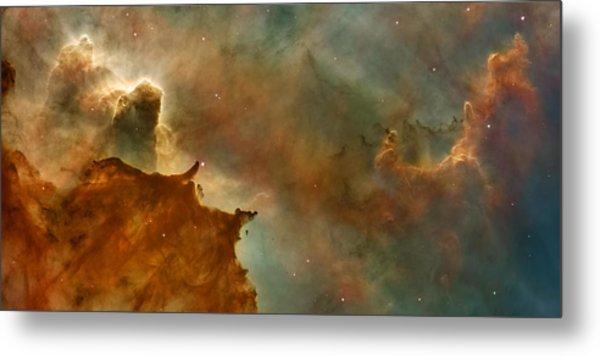 Carina Nebula Details -  Great Clouds Metal Print