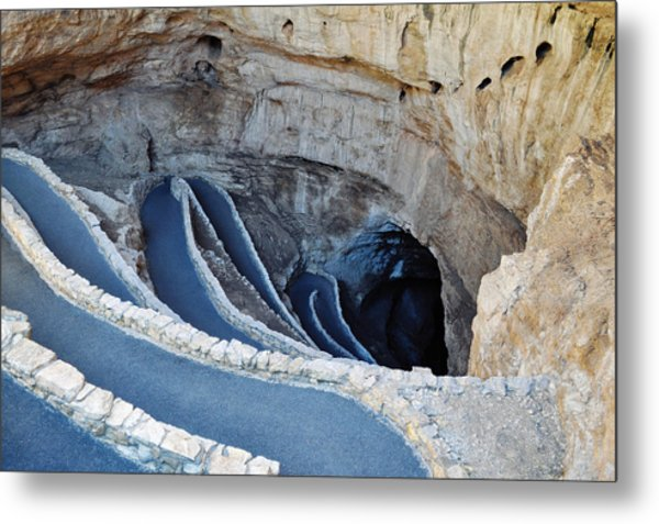 Carlsbad Caverns Natural Entrance Metal Print