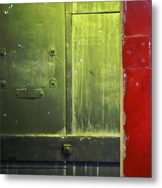 Carlton 6 - Firedoor Abstract Metal Print