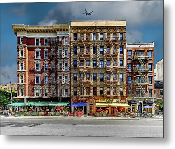 Metal Print featuring the photograph Carmine Street by Chris Lord