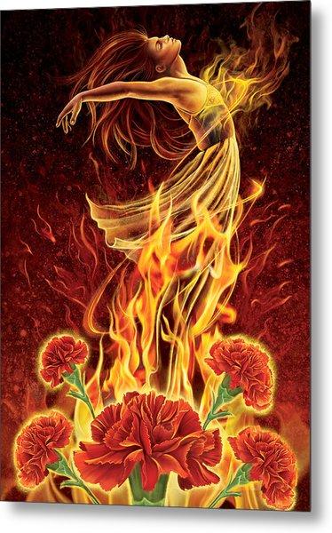 Carnation - Rebirth Metal Print