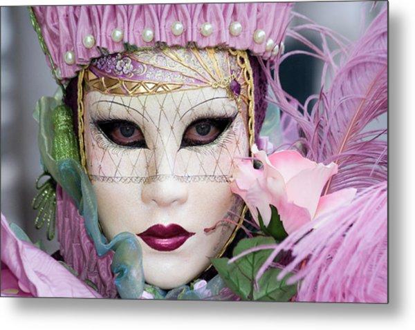 Carnival In Pink Metal Print
