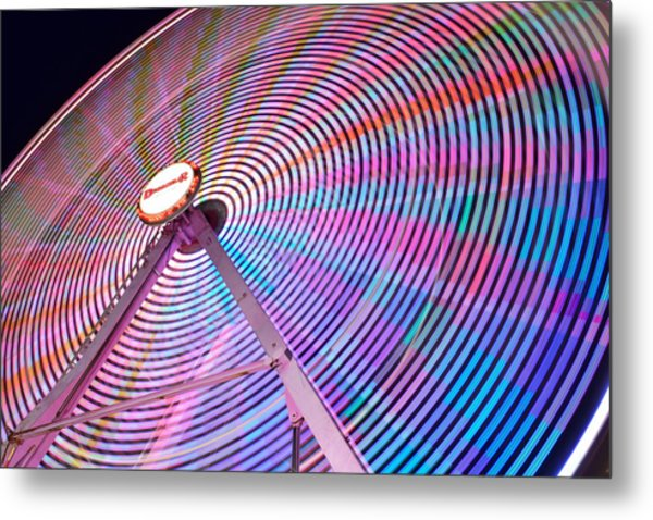 Carnival Spectacle Metal Print