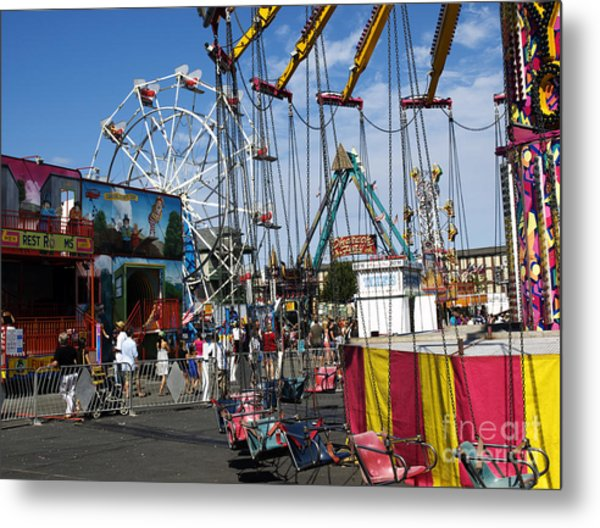 Carnival Starts Today Metal Print
