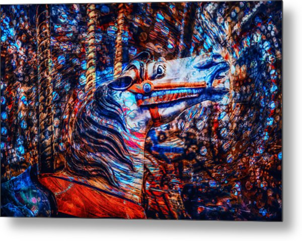 Metal Print featuring the photograph Carousel Dream by Michael Arend
