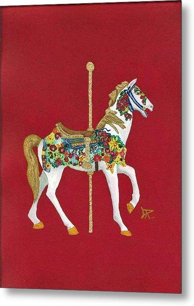 Carousel Horse #2 Metal Print