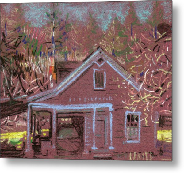 Carriage House Metal Print by Donald Maier