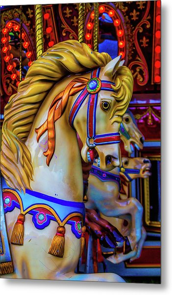 Carrousel Dreams Metal Print