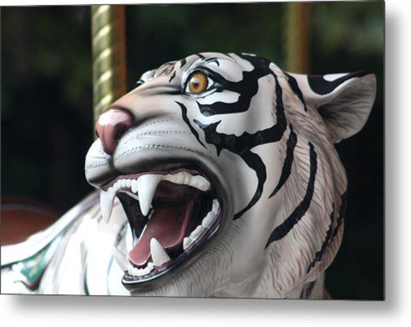 Carrousel Tiger Metal Print