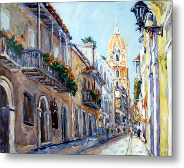 Cartagena Colombia Metal Print