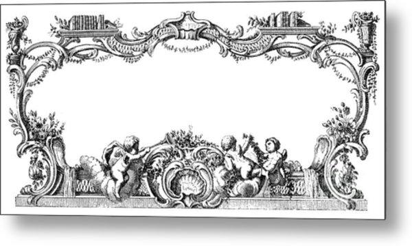 Cartouche, 1755 Metal Print