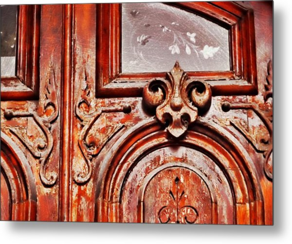 Carved Entry Metal Print by JAMART Photography