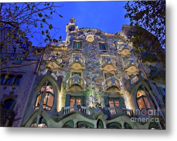 Casa Batllo In Barcelona Metal Print