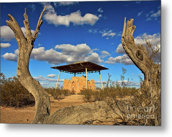 Casa Grande Ruins National Monument Metal Print