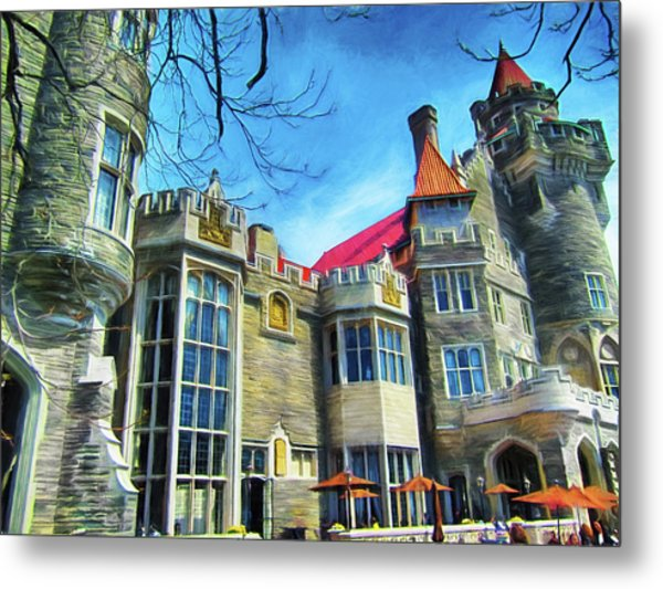 Casa Loma Series 2 Painted Y1 Metal Print