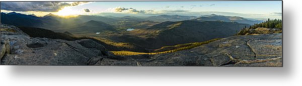Cascade Mountain Sunset Metal Print