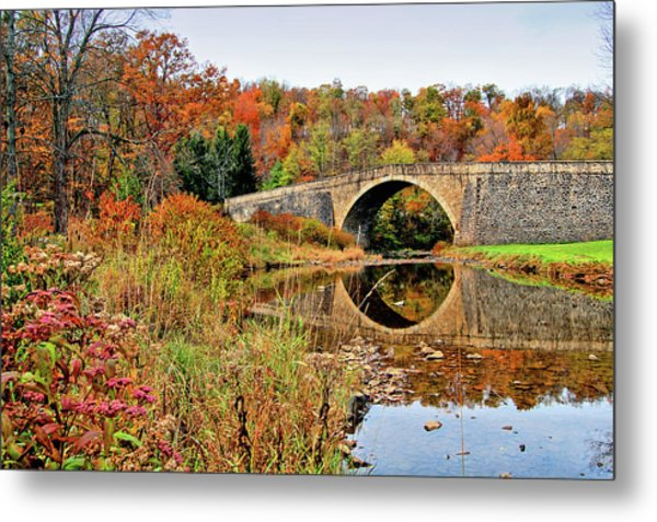 Casselman River Bridge Metal Print