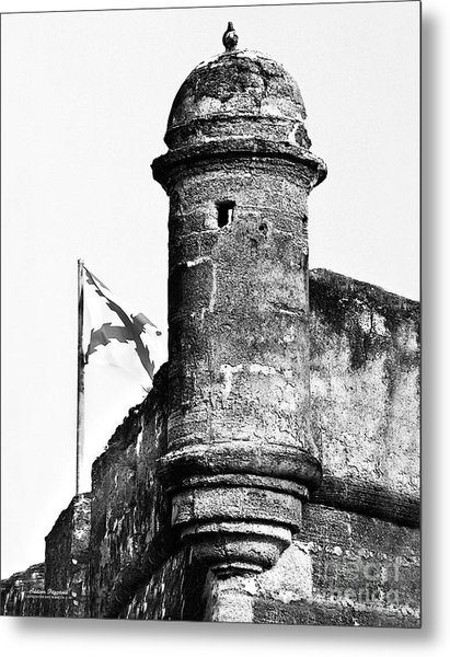 Castillo Lookout Metal Print by Addison Fitzgerald