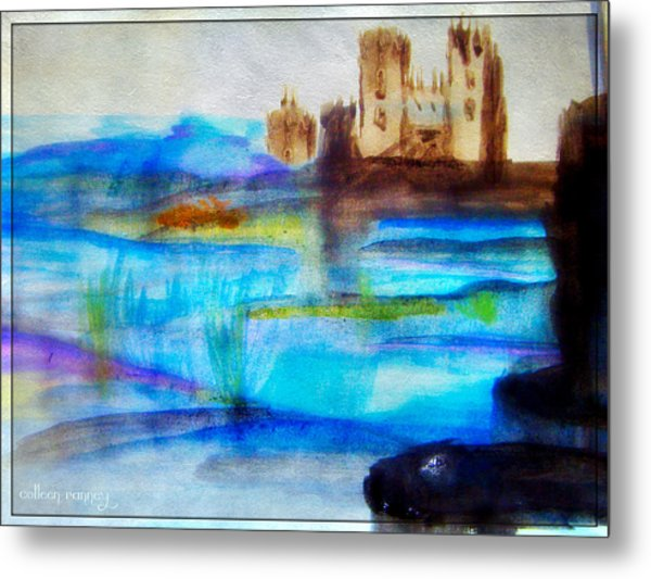 Castle By Colleen Ranney Metal Print