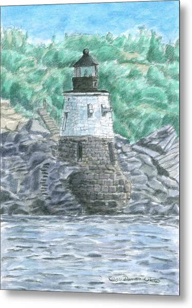 Castle Hill Lighthouse Metal Print