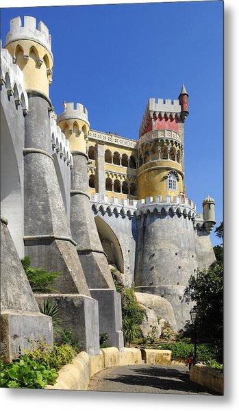 Castle In Color Metal Print