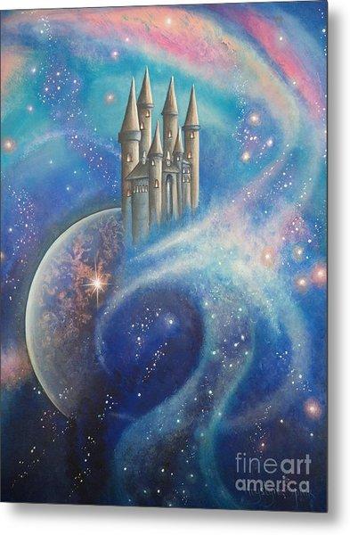 Castle In The Stars Metal Print