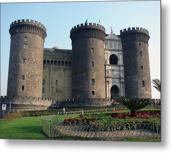 Castle Nuovo Naples Italy Metal Print