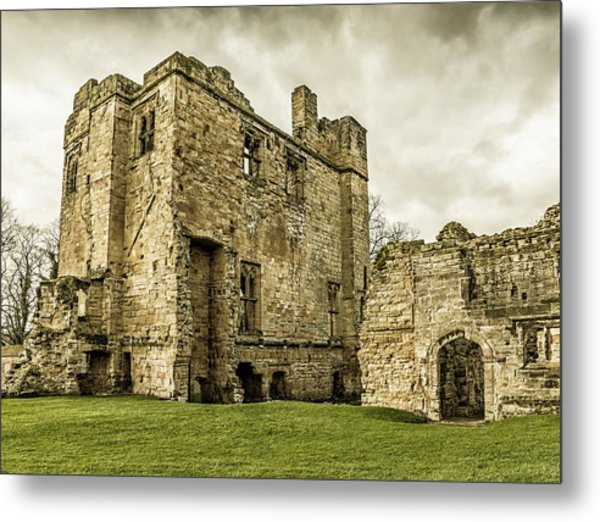 Castle Of Ashby Metal Print