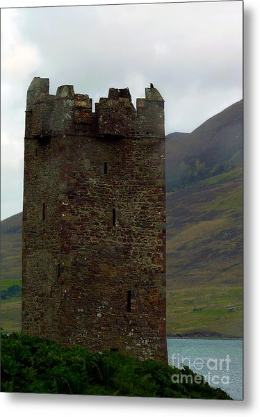 Castle Of The Pirate Queen Metal Print