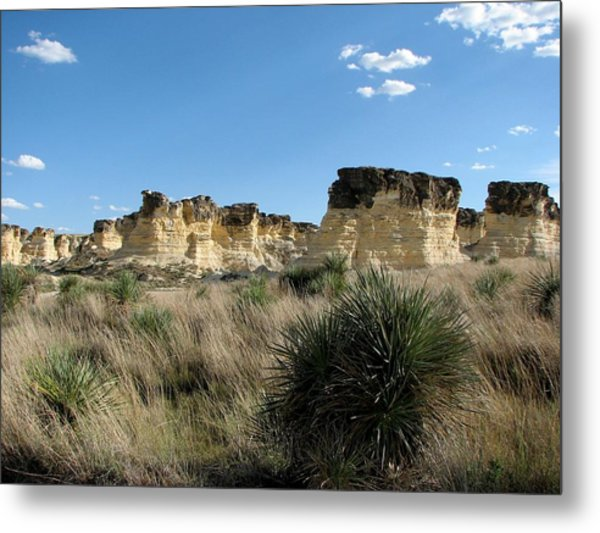 Castle Rock Badlands Metal Print