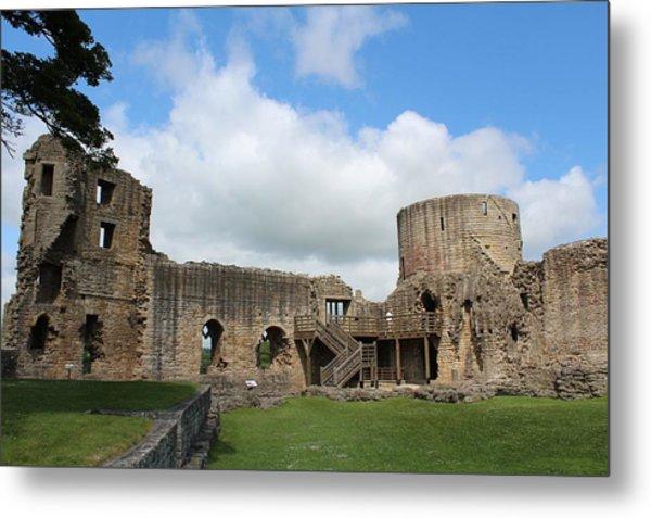 Castle Ruins Metal Print