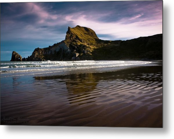 Castlepoint  Metal Print by Sarah Ina Alexander