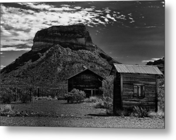Castolon Ghost Town Metal Print