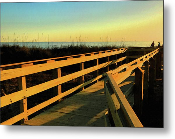 Caswell Sunset Metal Print