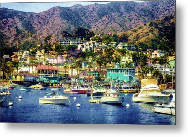 Catalina Express  View Metal Print