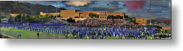 Catalina Foothills High School Graduation 2016 Metal Print