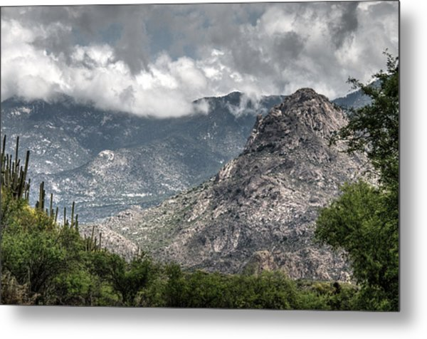 Catalina Mountains Metal Print