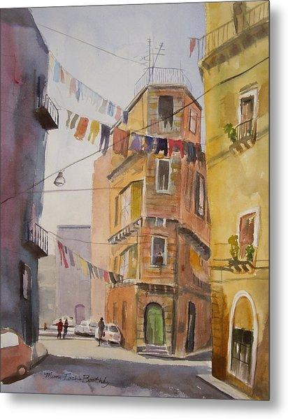 Catania - Blowing In The Wind Metal Print