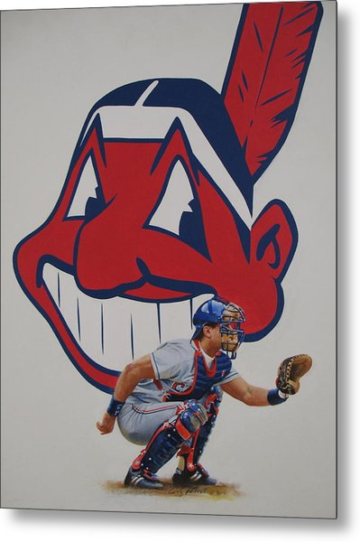 Catcher Metal Print