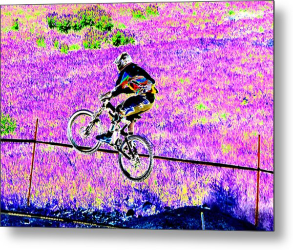 Catching Air Metal Print by Peter  McIntosh