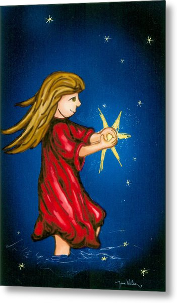 Catching Moonbeams Metal Print