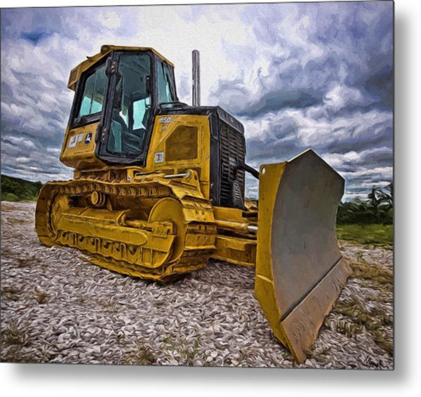 Caterpillar 650j Metal Print