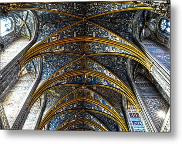 Cathedral Albi Metal Print