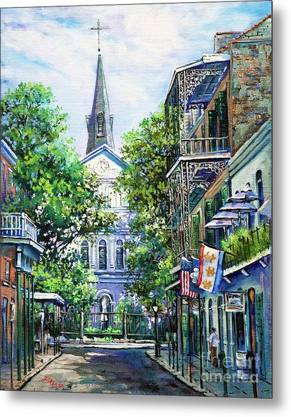 Cathedral At Orleans Metal Print
