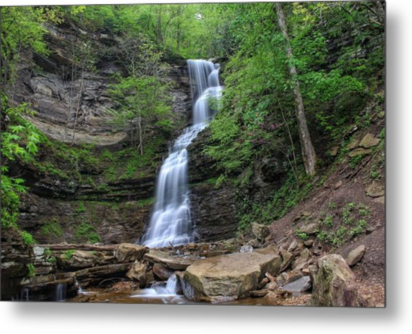 Cathedral Falls Metal Print