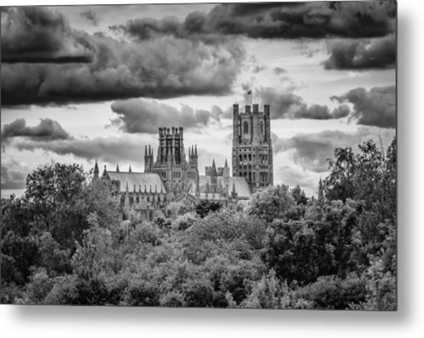 Cathedral From The North-east Metal Print